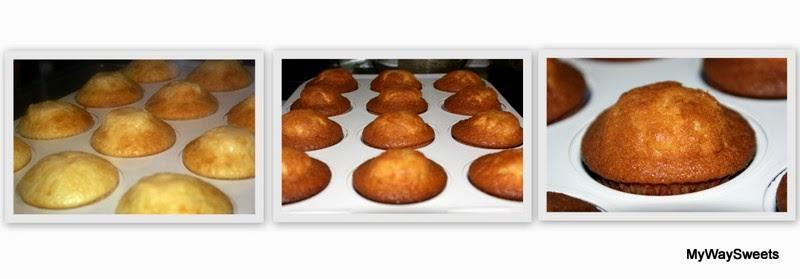 waniliowe muffiny z gorzką i białą czekoladą
