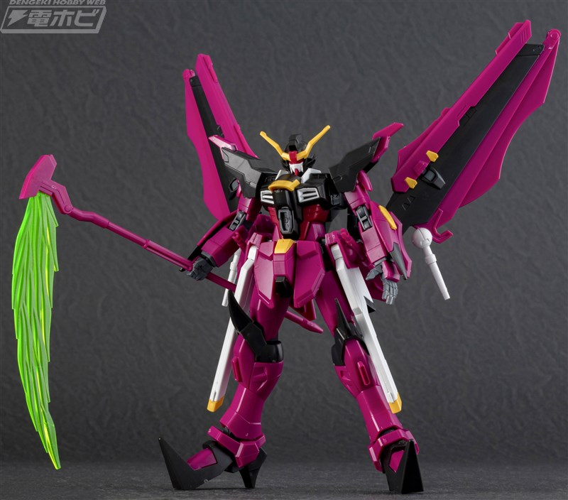 HGBD 1/144 Gundam Love Phantom Sample Images by Dengeki Hobby - Gundam Kits Collection News and Reviews