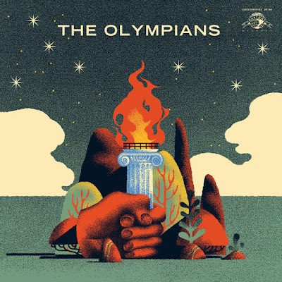 The Olympians - The Olympians LP cover album 2016