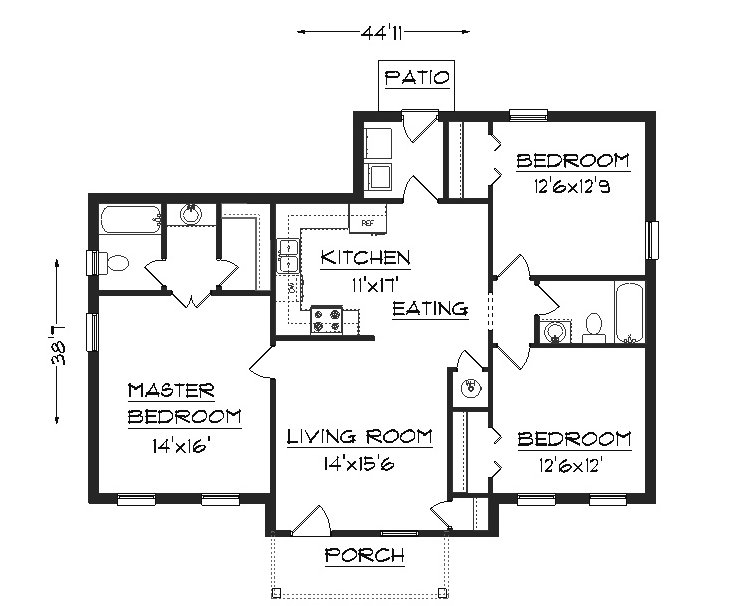 House Plans by the House Designer picture