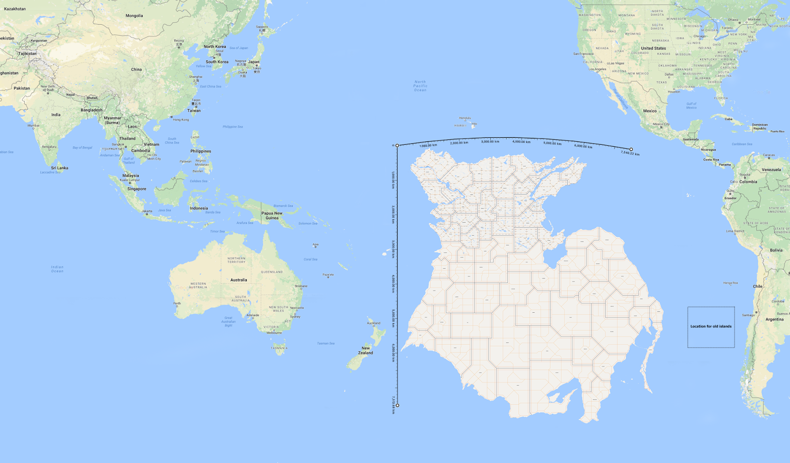 If earth had a continent in the pacific ocean what would its if earth had a continent in the pacific ocean what would its environmental conditions be from the middle north south west and east gumiabroncs Images