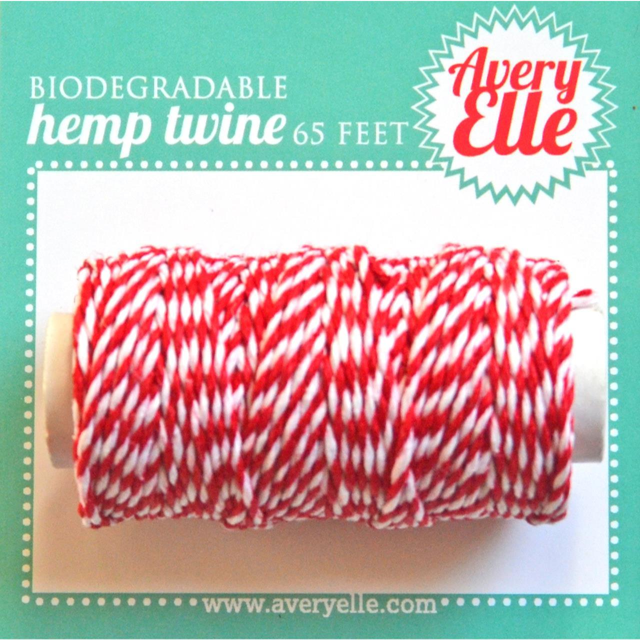 Avery Elle Cherry Hemp Twine