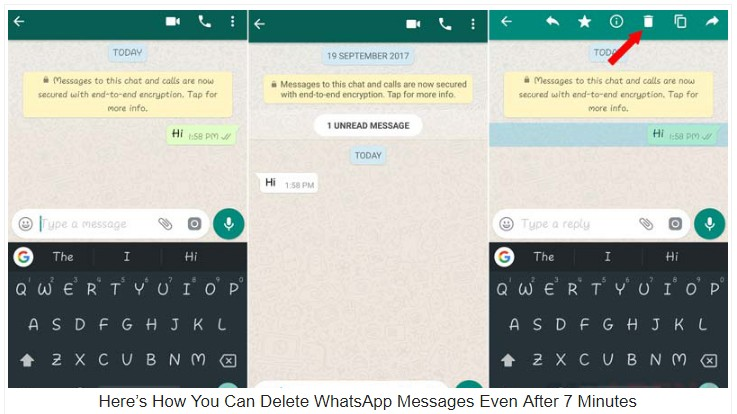 How You Can Permanently Delete WhatsApp Messages Even After 7 Minutes