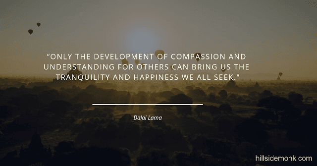 Dalai Lama Compassion Quotes-3 Only the development of compassion and understanding for others can bring us the tranquility and happiness we all seek ― Dalai Lama