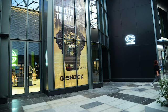 Casio unveils new G-Shock x Stash limited-edition watch at the new Concepts store in Dubai