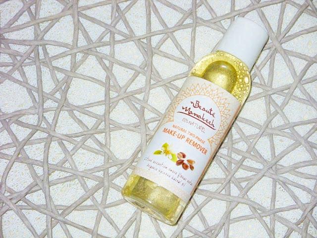 Recenzja: Naturalny pomarańczowy dwufazowy płyn do demakijażu oczu i twarzy, Beaute Marrakech