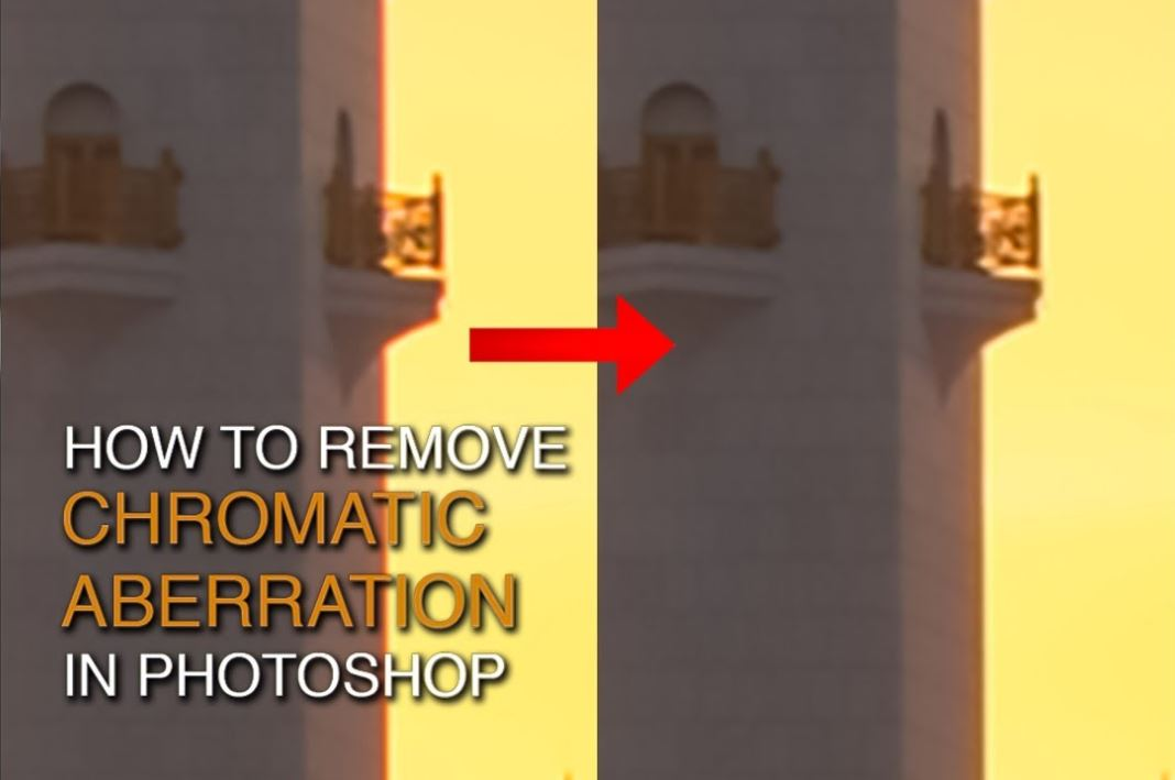 How to Remove Chromatic Aberration in Photoshop