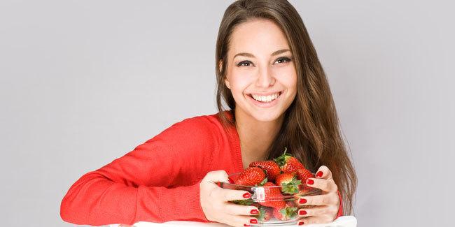 Jerawat Hilang Karena Strawberry