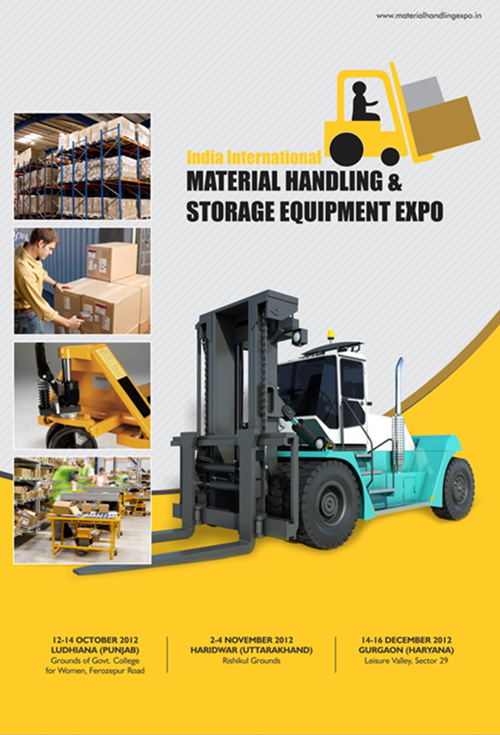 material handling Brochure Design