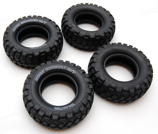 Tamiya High Lift tires