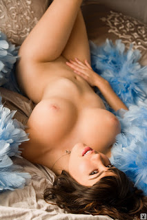 Girls of Playboy - Claire Sinclair - Playmate of the Month October 2010