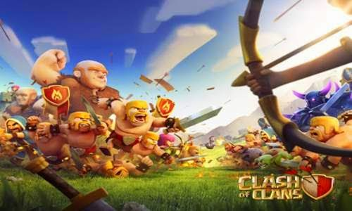 """Download """"CLASH OF CLANS"""" Unlimited Gold, Potions,gem  and Jewels!"""