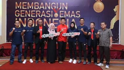 """Bertemakan """"Membangun Generasi Emas"""" Iko Uwais Gelar Diskusi Terbuka di Bekasi"""