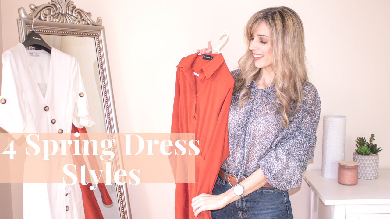 4 Dress Styles To See You Through Spring