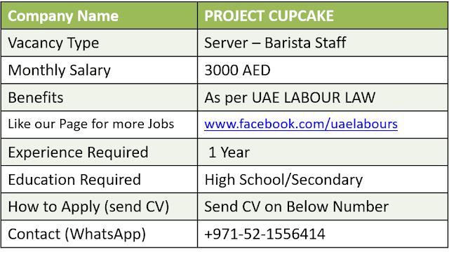Jobs in Dubai 2018