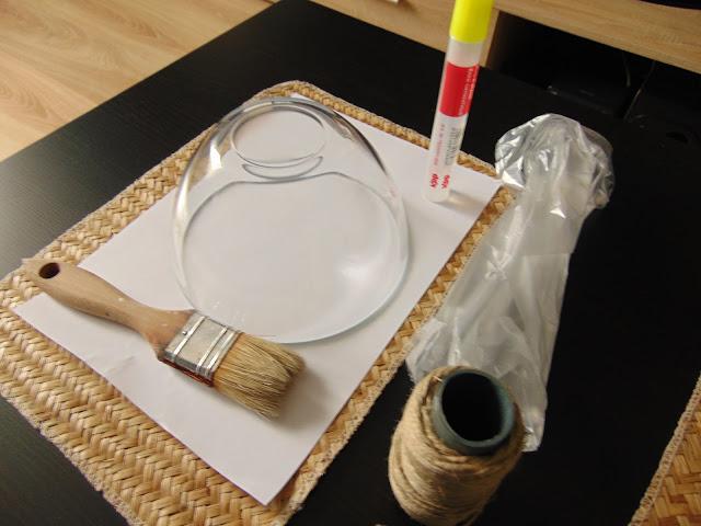 jak zrobić dekorację ze sznurka