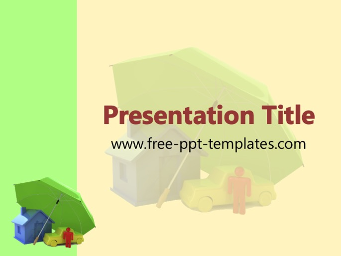insurance ppt templates free  Insurance PPT Template