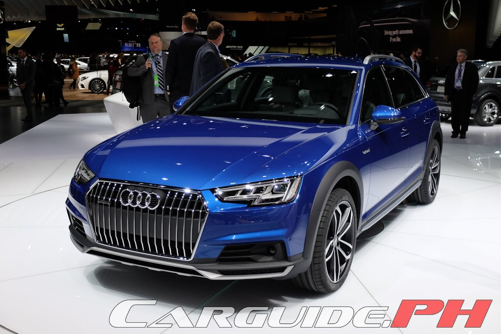 Audi Is Offering The All New A4 In A Go Anywhere Guise Allroad Quattro Thanks To Increased Ground Clearance And Standard Wheel Drive