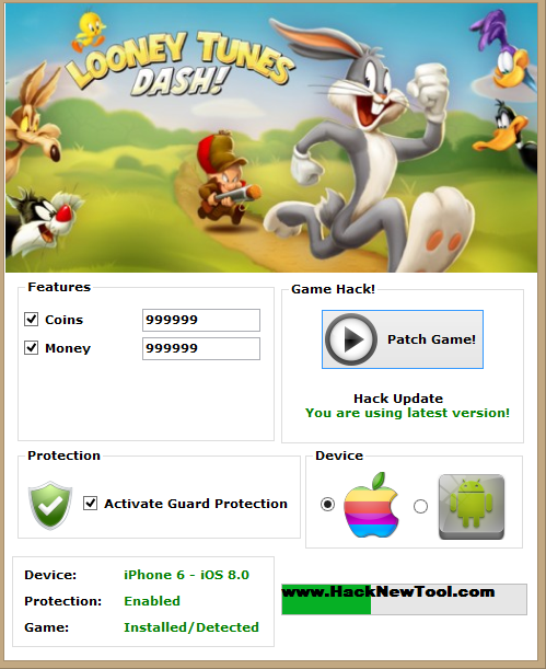 Looney Tunes Dash Hack