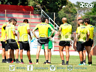 Oriente Petrolero - Entrenamiento Estadio Real Santa Cruz - DaleOoo.com página sitio web Club Oriente Petrolero