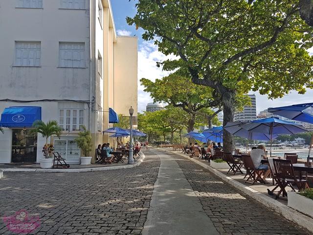 Confeitaria Colombo no Forte de Copacabana