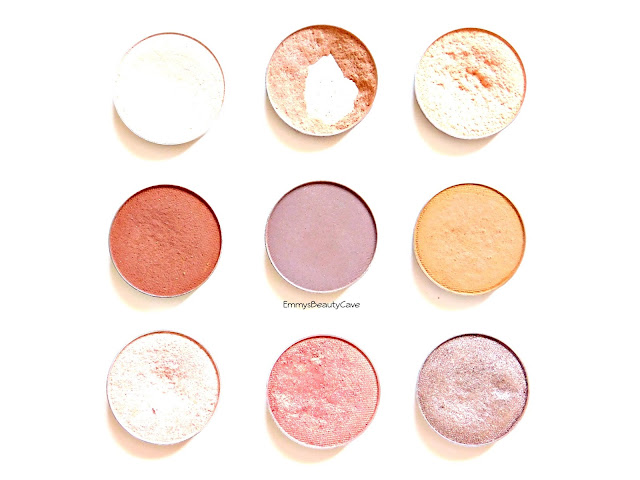 Makeup Geek Eye Shadows Review and Swatches
