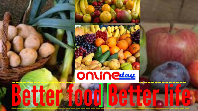 healthy balanced food and better food for better life