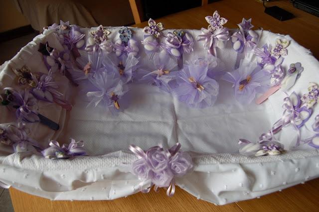 Rosy profumo di lavanda cesto per le bomboniere - Cesti porta bomboniere matrimonio ...