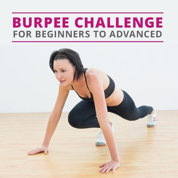 50 Burpee Challenge (Beginner and Advanced)