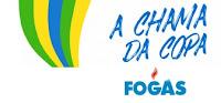 Promoção A Chama da Copa Fogás fogas.com.br/promocao