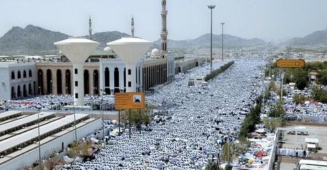 Labbaik Allahumma Labbaik, Hari Ini Jutaan Jamaah Haji Bergerak ke Padang Arafah