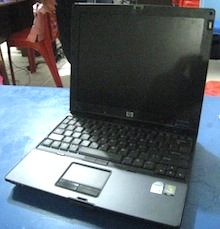 jual laptop antik hp compaq nc 4400 2nd