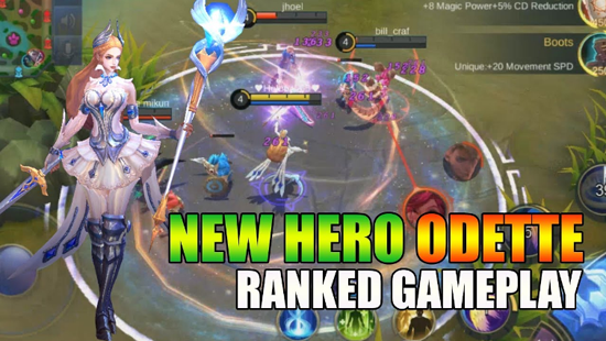 Hero Odette Mobile Legends, The Swan Princess Resmi Rilis!