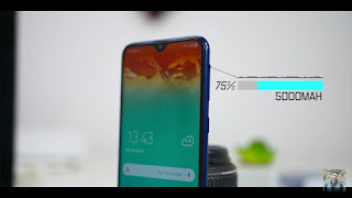 Samsung galaxy M20-battery review