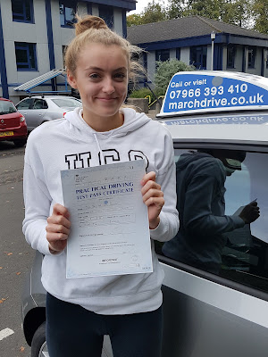 Jennifer Pollock Practical Driving Test Pass