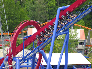 Banshee Review - Kings Island Roller Coaster