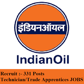 Indian Oil Corporation Limited, IOCL, Western Region, IOCL Recruitment, 10th, ITI, Apprentice, freejobalert, Sarkari Naukri, Latest Jobs, iocl logo