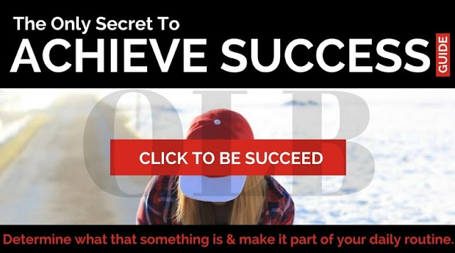 The One and Only Secret for Achieving Massive Success