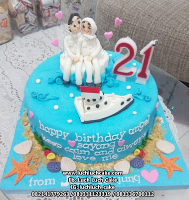 Kue Tart Ulang Tahun Romantis Untuk Pacar