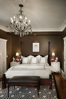 wandgestaltung schlafzimmer beige