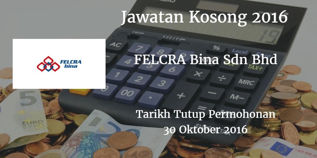 Jawatan Kosong FELDA 28 Oktober 2016