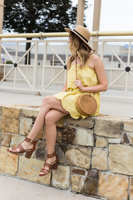 cutest yellow dress for summer
