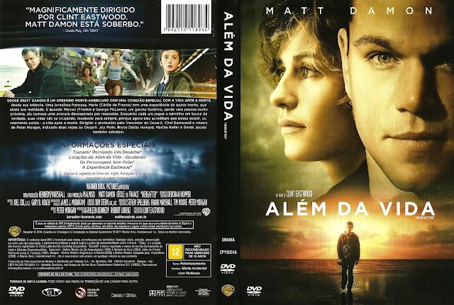 Capa DVD Além da Vida