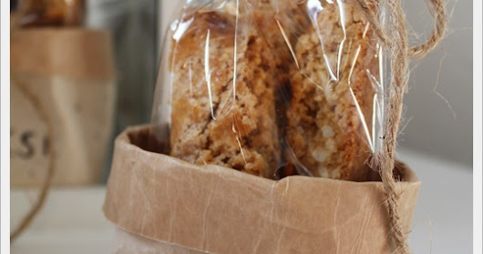 Lecker: Cantuccini mit Verpackung