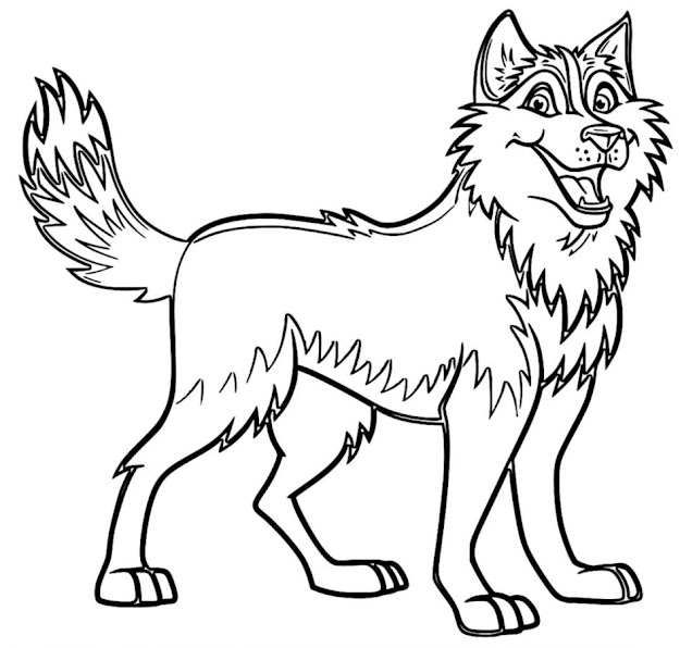 Download Coloring Pages Husky Coloring Pages Husky Coloring Pages  Wecoloringpage Sheets Husky Coloring Pages
