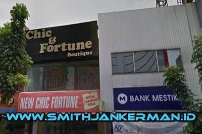 Lowongan Chic & Fortune Pekanbaru Juli 2018