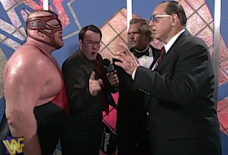 WWF / WWE - IN YOUR HOUSE 9: International Incident - Vader Demands a title shot against Shawn Michaels