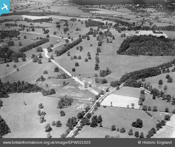 Photograph of North Mimms and George's Wood, Brookmans Park, 1928