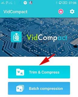 cara kompress video dengan mudah di android