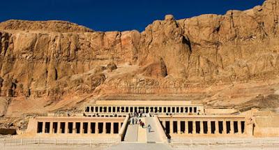 معبد الكرنك حديثا